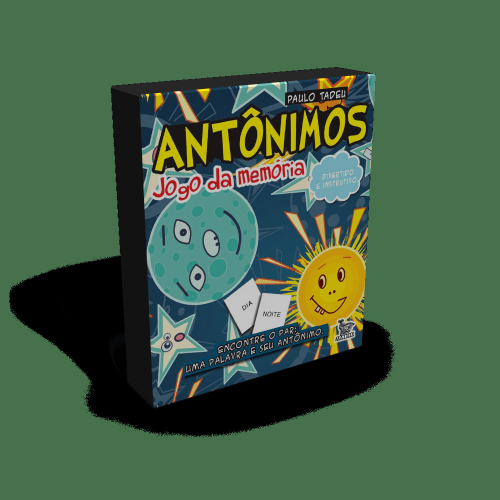 Antônimos - Jogo da Memória